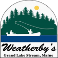 Weatherby's Maine Hunting and Fishing Lodge Logo
