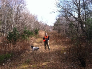 fall grouse hunting in Maine