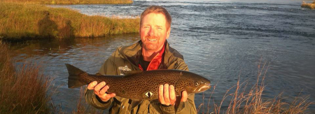 Brown Trout fishing in Iceland