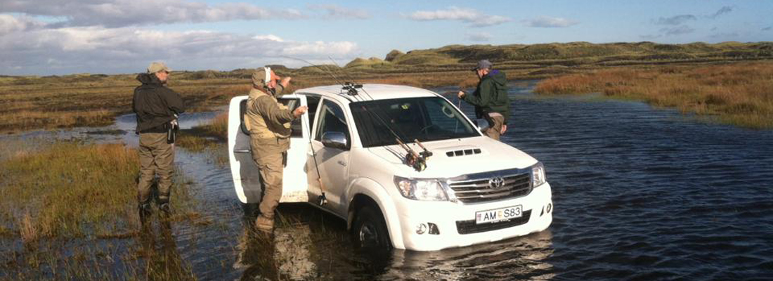 Fishing in Iceland with Weatherby's