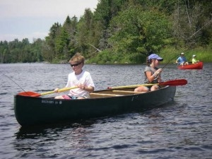 St Croix River canoeing