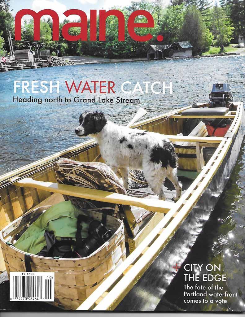 Maine Magazine cover