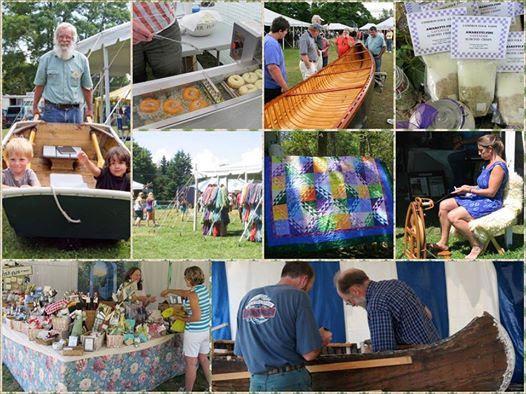 Folk Art Festival in Maine