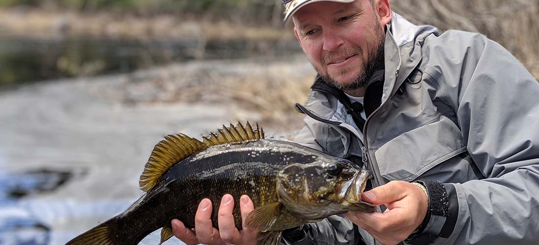 Best fishing lodge in Maine for bass and Salmon