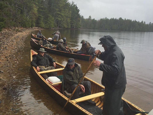 Ice-out Trolling for Landlocked Salmon in Maine
