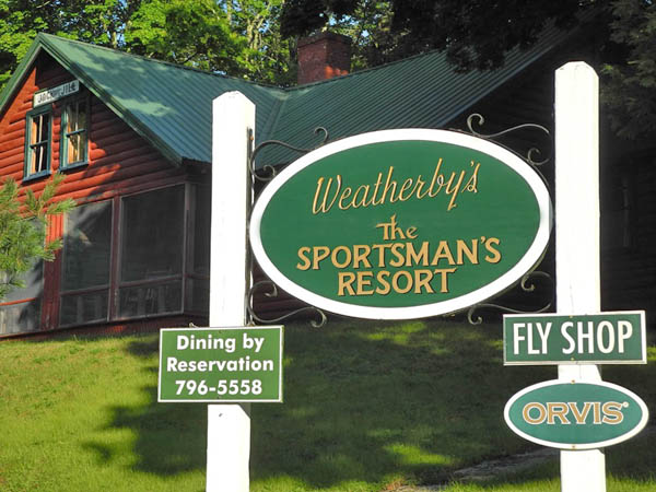 Plan a Fishing Trip to Weatherby's the Sportsman's Resort in Grand Lake Stream Maine