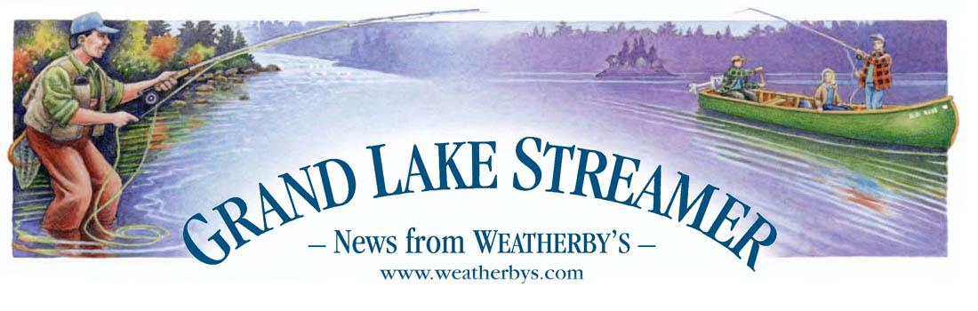 Grand Lake Streamer Newsletter Header